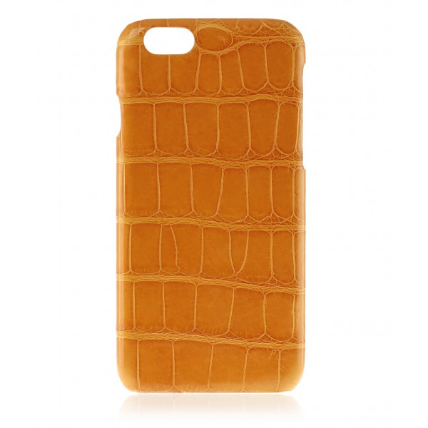 2 ME Style - Case Croco Carrot Orange - iPhone 6Plus