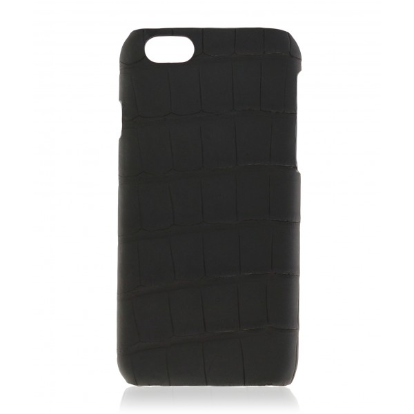 2 ME Style - Case Croco Carbon Black - iPhone 6Plus