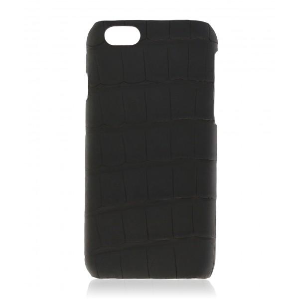 2 ME Style - Case Croco Carbon Black - iPhone 6Plus