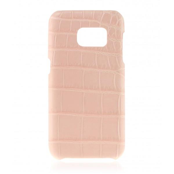 2 ME Style - Case Croco Powder Pink - Samsung S7 Edge