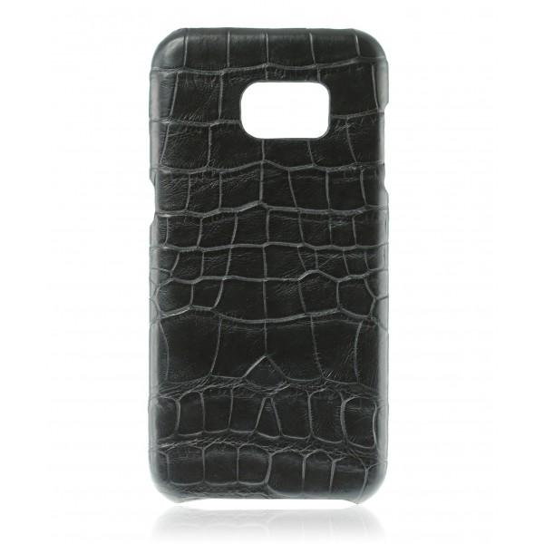 2 ME Style - Case Croco Tangerine - Samsung S7 Edge