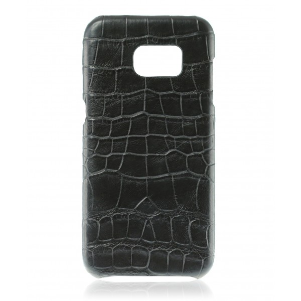 2 ME Style - Cover Croco Black - Samsung S7 Edge