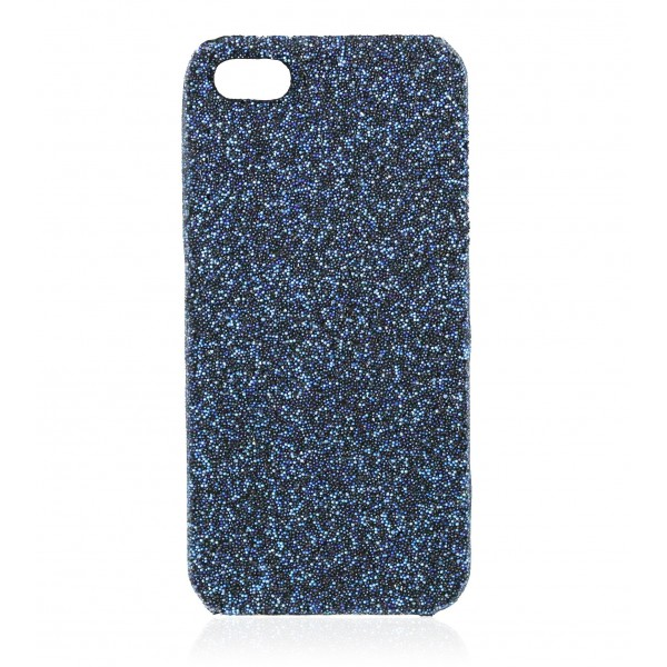 2 ME Style - Cover Crystal Fabric Moonlight Blue - iPhone 5/SE