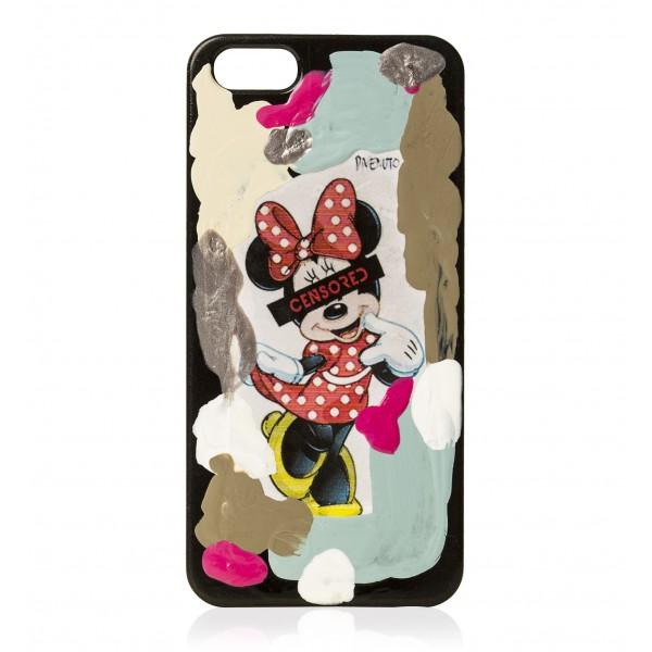 2 ME Style - Case Massimo Divenuto Minnie Mouse Censored - iPhone 5/SE