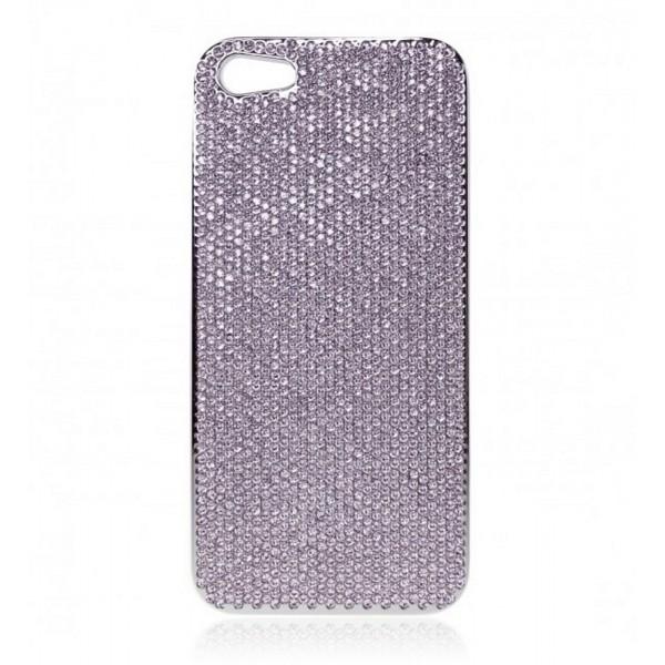 2 ME Style - Case Swarovski Violet - iPhone 5/SE
