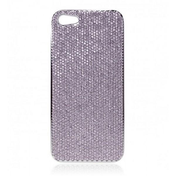 2 ME Style - Cover Swarovski Violet - iPhone 5/SE