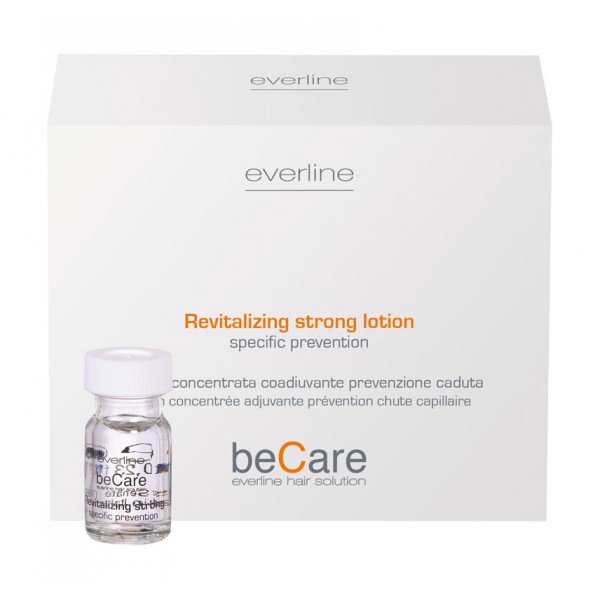 Everline - Hair Solution - Prevenzione Caduta - Revitalizing Strong Lotion - BeCare - Professional Color Line