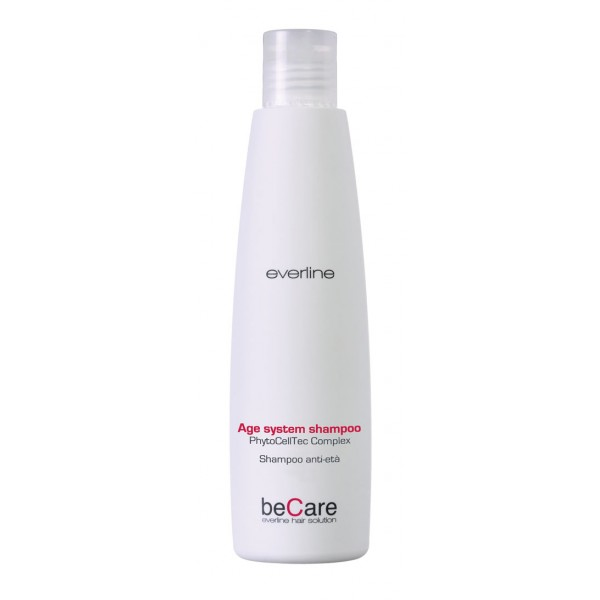 Everline - Hair Solution - Anti Età - Age System Shampoo - BeCare - Professional Color Line