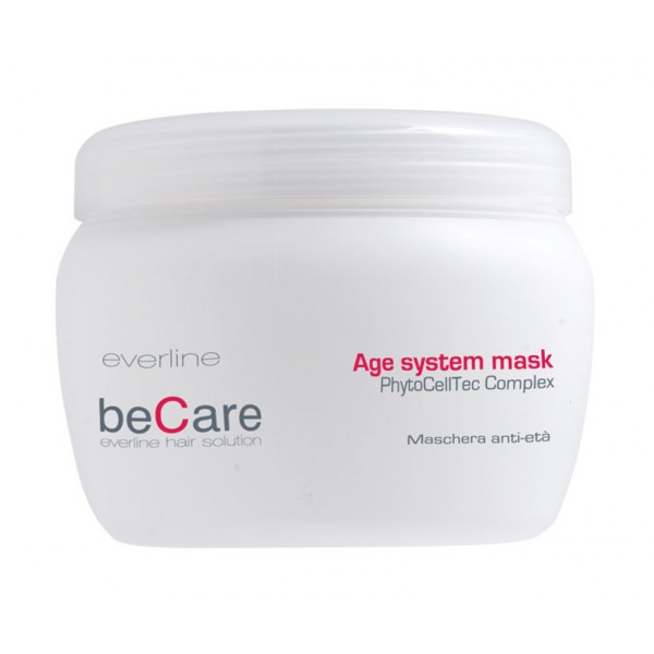 Everline - Hair Solution - Anti Età - Age System Mask - BeCare - Professional Color Line