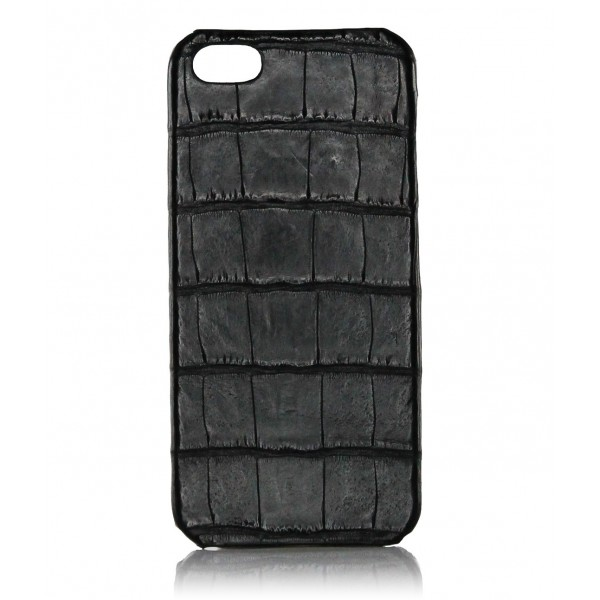 2 ME Style - Case Croco Black - iPhone 5/SE