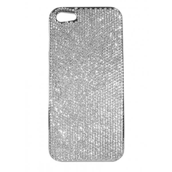 2 ME Style - Cover Swarovski Silver - iPhone 5/SE