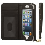 2 ME Style - Case Black Wallet Cow - iPhone 5/SE
