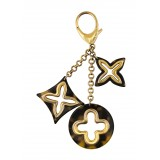 Louis Vuitton Vintage - Insolence Bag Charm - Gold Brown - LV Bag Charm - Luxury High Quality