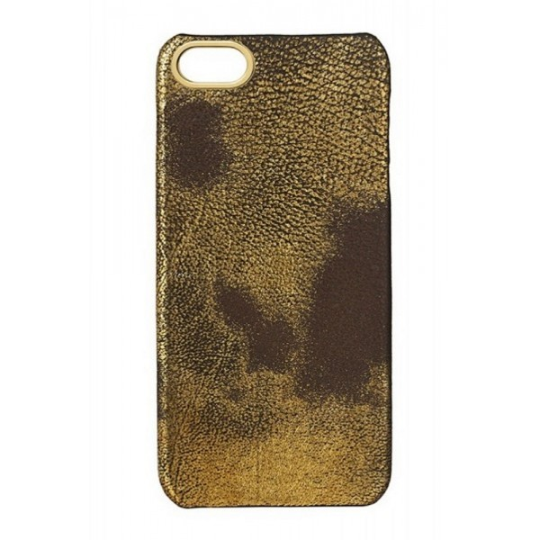 2 ME Style - Cover Cioccolato Oro - Metalerie Oro - iPhone 5/SE