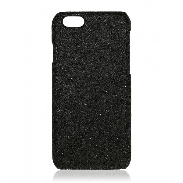 2 ME Style - Cover Crystal Fabric Nero - iPhone 5/SE