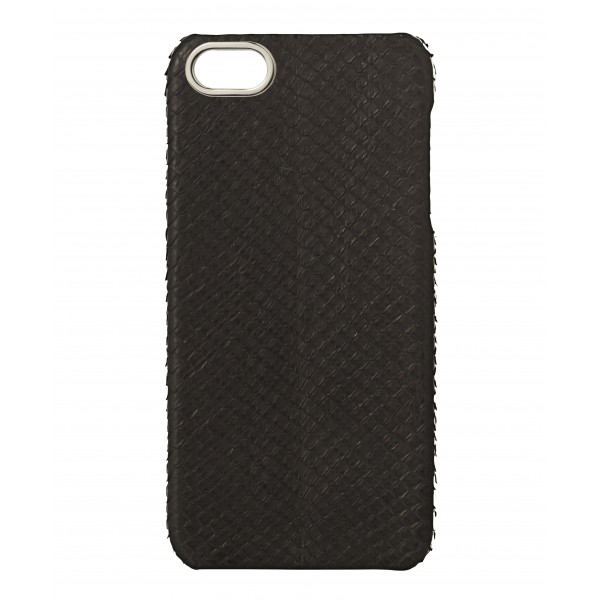 2 ME Style - Case Phyton Black Silver Finishing - iPhone 5/SE