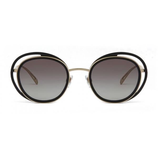 7dd6b3cc8fa4 Giorgio Armani - Open Lenses Round Frame Sunglasses - Grey - Sunglasses - Giorgio  Armani Eyewear