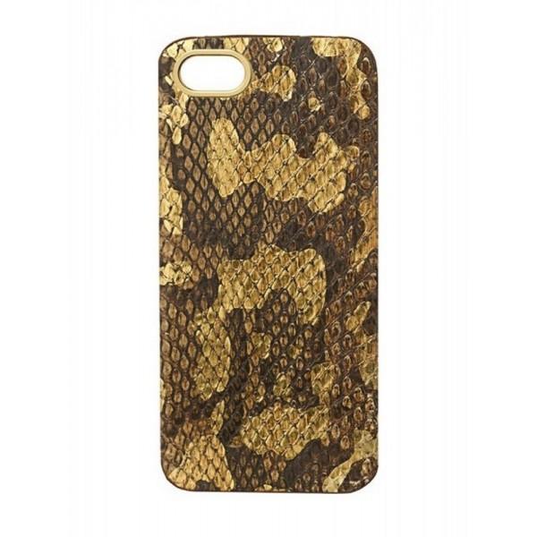 2 ME Style - Cover Pitone Foglia Oro - iPhone 5/SE