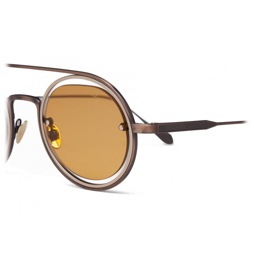 ce21c01939f9 ... Giorgio Armani - Round Frame Sunglasses - Yellow - Sunglasses - Giorgio  Armani Eyewear ...