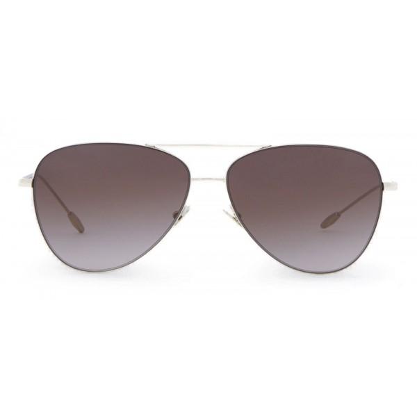 823ccba4 Giorgio Armani - Metal Pilot Frame Sunglasses with 18K Gold Plating - Brown  - Sunglasses - Giorgio Armani Eyewear - Avvenice