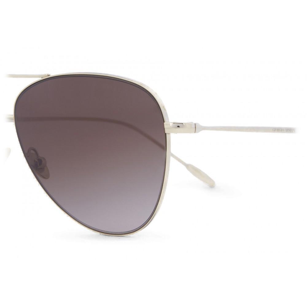 ede864da Giorgio Armani - Metal Pilot Frame Sunglasses with 18K Gold ...