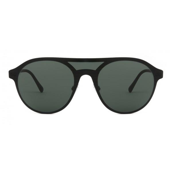 8d2ebfb83b Giorgio Armani - Cat Walk Sunglasses with Mask Frame - Green - Giorgio  Armani Eyewear - Avvenice