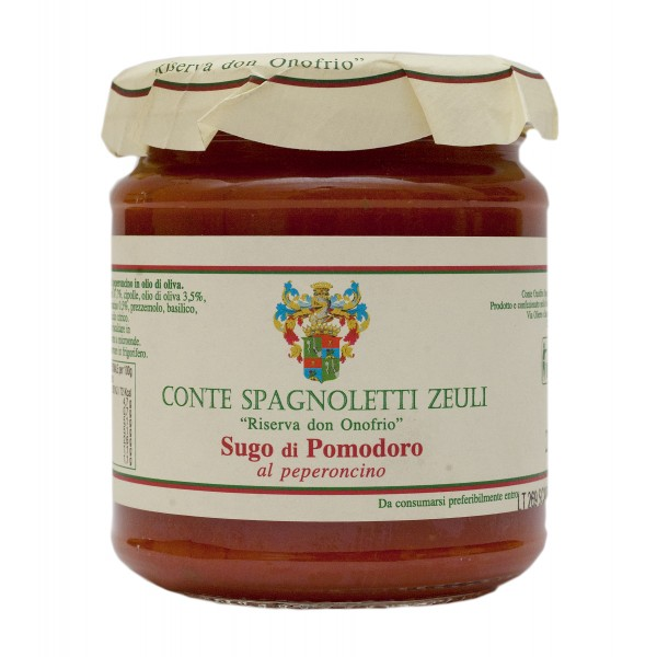 Conte Spagnoletti Zeuli - Sugo di Pomodoro al Peperoncino