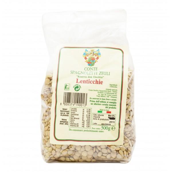 Conte Spagnoletti Zeuli - Lentils - Altamura Quality