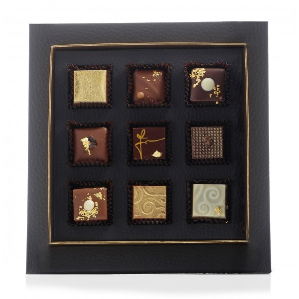 Ivana Ciabatti - The Chocolate - Gourmet Line - Limited Edition - Artisan Chocolate - 9 pc