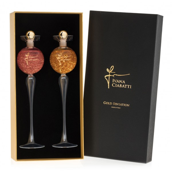Ivana Ciabatti - Gold Sensation Three - Exclusive Gift Box - Liquors Line - Limited Edition - Liqueurs and Spirits