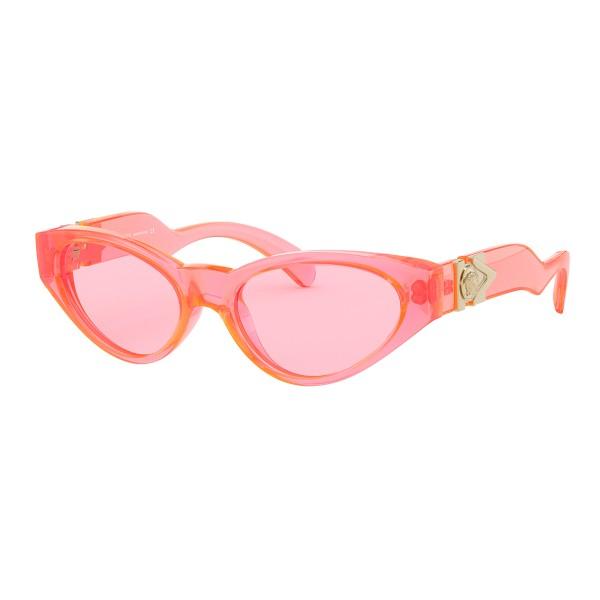 Versace - Sunglasses V-Medusa - Pink Fluo - Sunglasses - Versace Eyewear