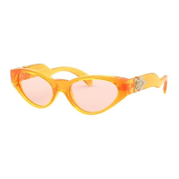 Versace - Occhiale da Sole V-Medusa - Arancione Fluo - Occhiali da Sole - Versace Eyewear