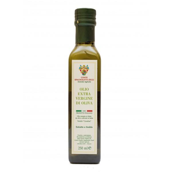 Conte Spagnoletti Zeuli - Olio Extravergine di Oliva D.O.P. - 250 ml - Fruttato Intenso