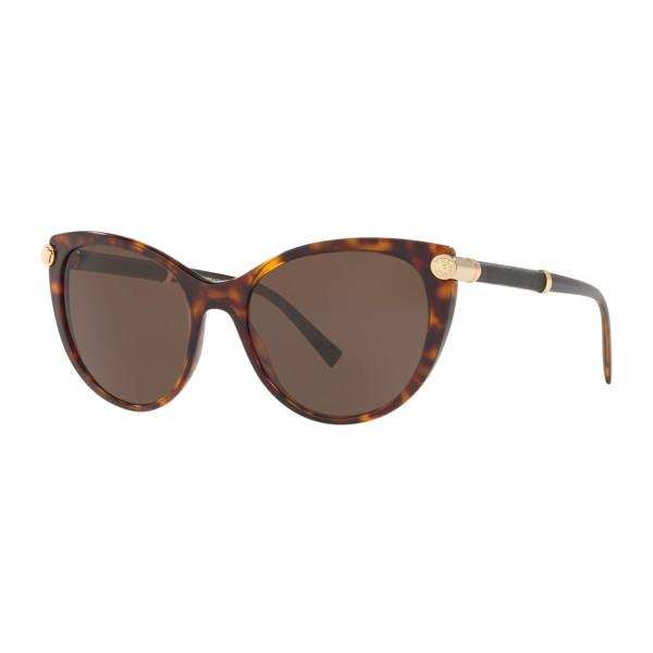Versace - Occhiale da Sole Medusa V-Rock - Havana - Occhiali da Sole - Versace Eyewear