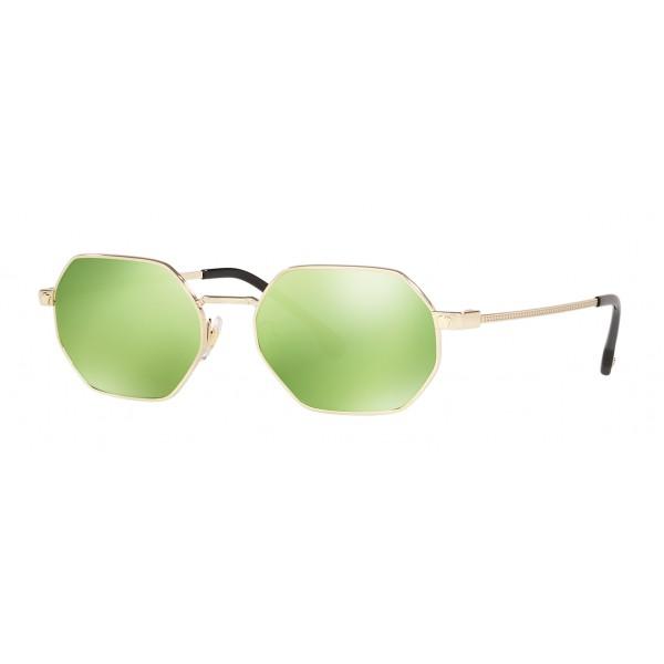 Versace - Occhiale da Sole Versace V-Vintage Octagon - Verde Acido - Occhiali da Sole - Versace Eyewear