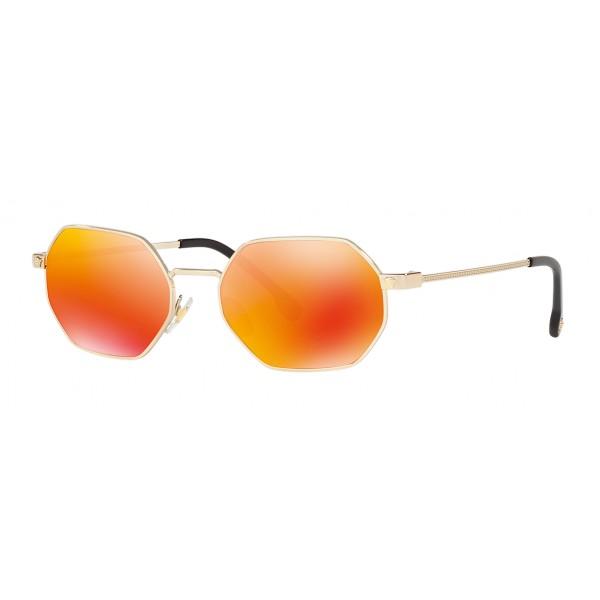 Versace - Sunglasses Versace V-Vintage Octagon - Red - Sunglasses - Versace Eyewear