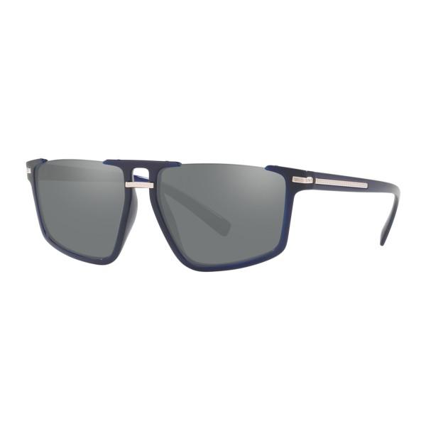 Versace - Sunglasses Greca Aegis - Blue Navy - Sunglasses - Versace Eyewear