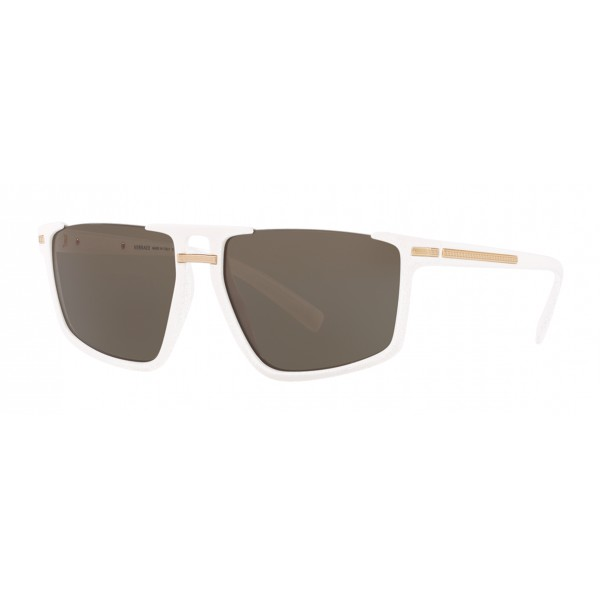 Versace - Occhiale da Sole Greca Aegis - Bianchi - Occhiali da Sole - Versace Eyewear