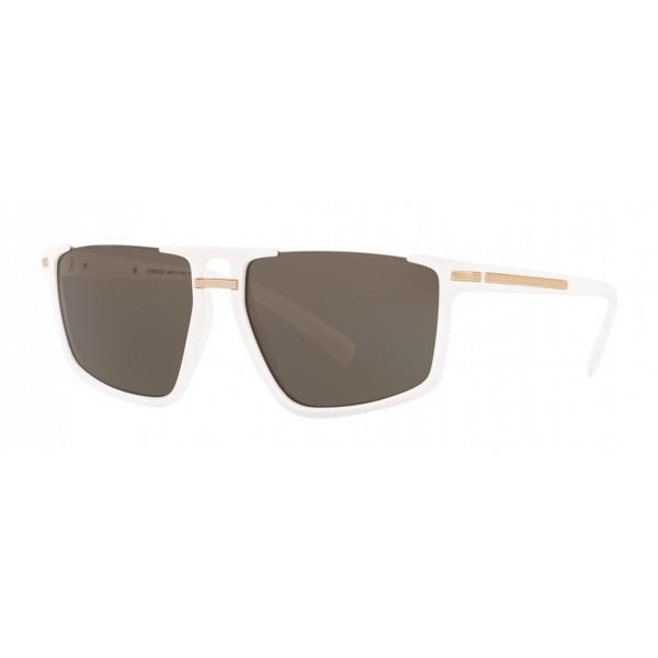 Versace - Sunglasses Greca Aegis - White - Sunglasses - Versace Eyewear