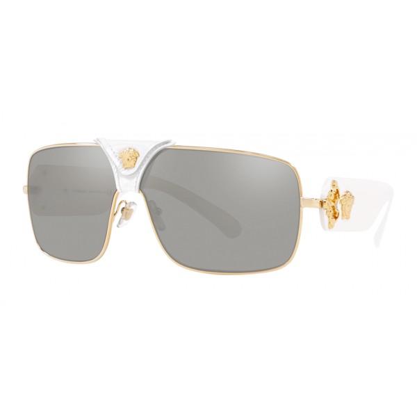 Versace - Occhiale da Sole Baroque - Bianco Onul - Occhiali da Sole - Versace Eyewear