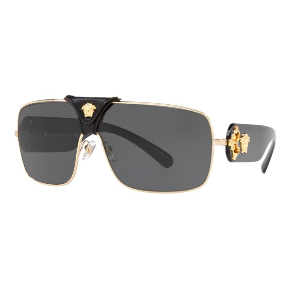Versace - Baroque Sunglasses - Black Onul - Sunglasses - Versace Eyewear