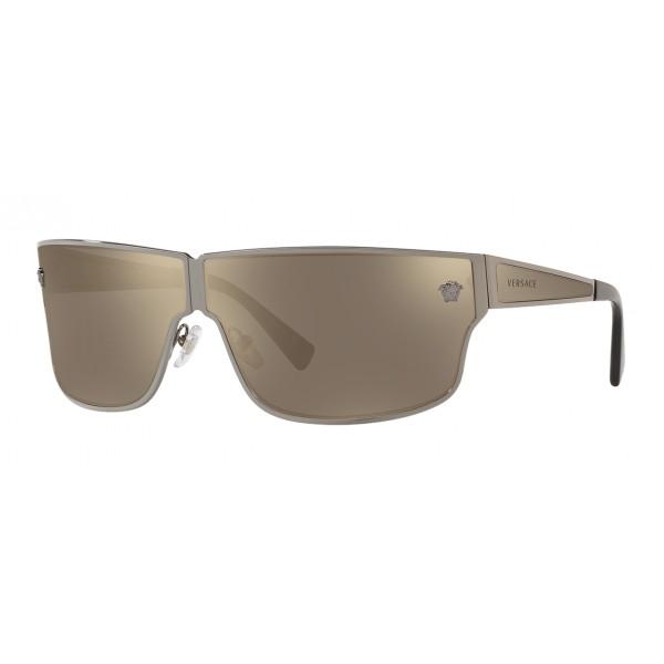 Versace - Sunglasses Medusa Aspis - Silver - Sunglasses - Versace Eyewear