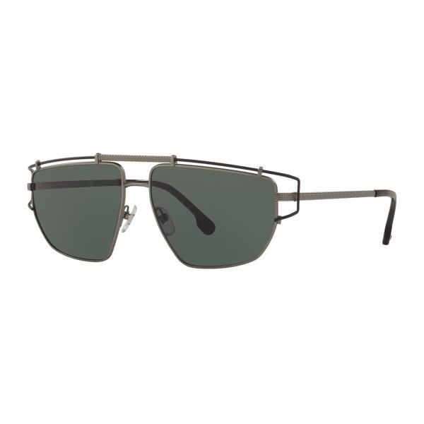 Versace - Occhiale da Sole Medusa Greek Wire - Argento - Occhiali da Sole - Versace Eyewear
