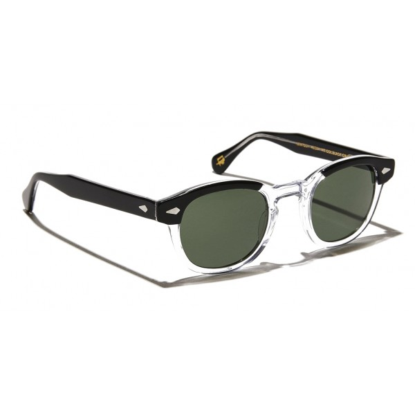 Moscot - Lemtosh Sun - Black Crystal - Sunglasses - Moscot Originals - Moscot Eyewear