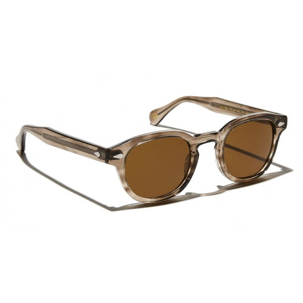 Moscot - Lemtosh Sun - Brown Ash - Sunglasses - Moscot Originals - Moscot Eyewear