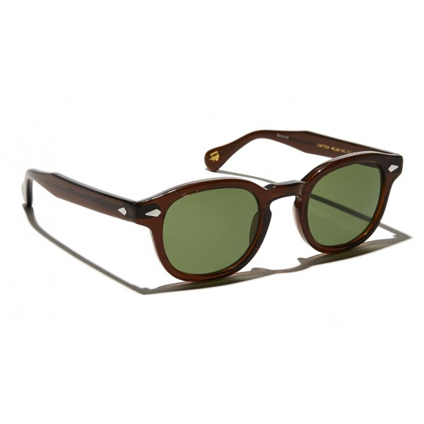 Moscot - Lemtosh Sun - Brown - Occhiali da Sole - Moscot Originals - Moscot Eyewear