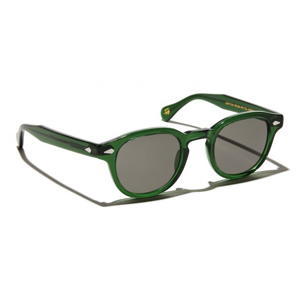Moscot - Lemtosh Sun - Emerald - Sunglasses - Moscot Originals - Moscot Eyewear