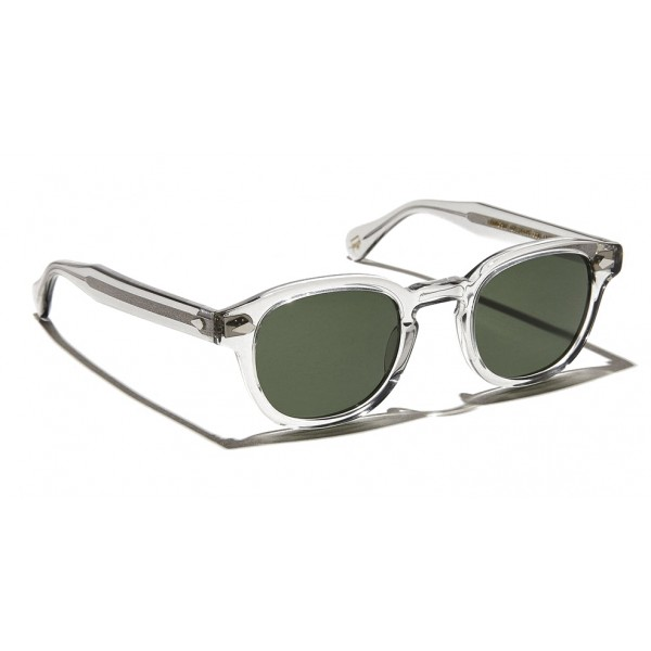 Moscot - Lemtosh Sun - Light Grey - Sunglasses - Moscot Originals - Moscot Eyewear