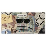 Moscot - Lemtosh Sun - Matte Black / Wood - Occhiali da Sole - Moscot Originals - Moscot Eyewear