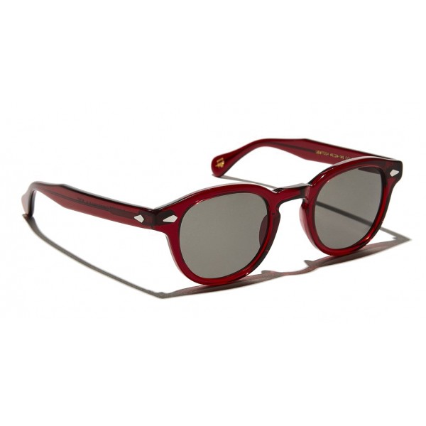 Moscot - Lemtosh Sun - Ruby - Sunglasses - Moscot Originals - Moscot Eyewear
